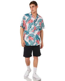 PINK GREEN MENS CLOTHING HUFFER SHIRTS - MSH84S5801PNKGR