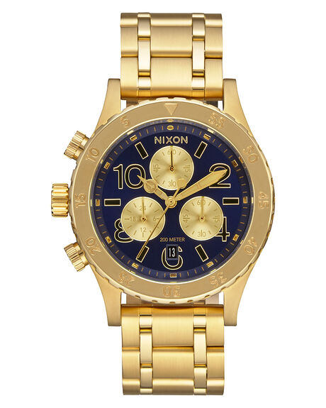 ALL GOLD NAVY MENS ACCESSORIES NIXON WATCHES - A4042216