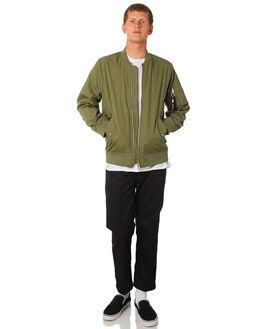 DOLLAR GREEN MENS CLOTHING CARHARTT JACKETS - I022418DGRN