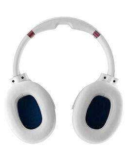 VICE GREY CRIMSON MENS ACCESSORIES SKULLCANDY AUDIO + CAMERAS - S6HCW-L568VGC