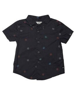 BLACK KIDS TODDLER BOYS BILLABONG SHIRTS - 7572206BLK