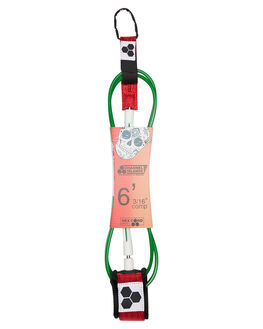 RED WHITE  GREEN SURF HARDWARE CHANNEL ISLANDS LEASHES - 19469100645RWG