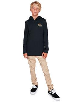 BLACK KIDS BOYS QUIKSILVER TOPS - EQBZT03931-KVJ0