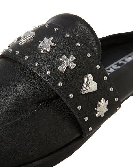 BLACK WOMENS FOOTWEAR SOL SANA FLATS - SS201W336BLK