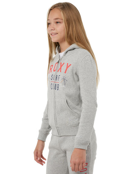 HERITAGE HEATHER KIDS GIRLS ROXY JUMPERS - ERGFT03247SGRH