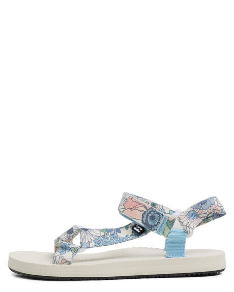 BLUE WOMENS FOOTWEAR BILLABONG FASHION SANDALS - BB-6603821-BLU