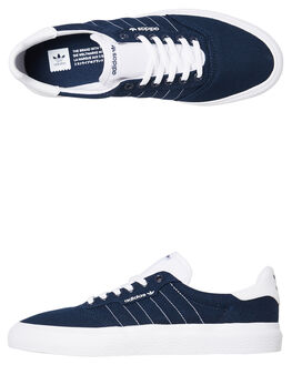 COLLEGIATE NAVY WOMENS FOOTWEAR ADIDAS SNEAKERS - SSEE6091CNVYW