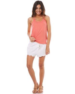PORCELAIN ROSE WOMENS CLOTHING ROXY SINGLETS - ERJKT03332MKE0