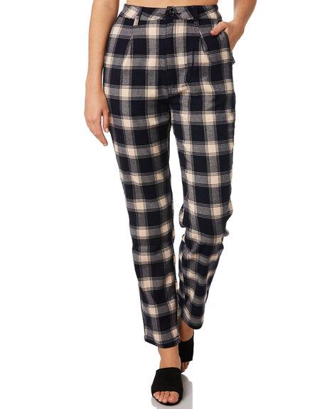 NAVY CREAM WOMENS CLOTHING ROLLAS PANTS - 12969-4555