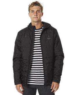 BLACK MENS CLOTHING BILLABONG JACKETS - 9575907BLK