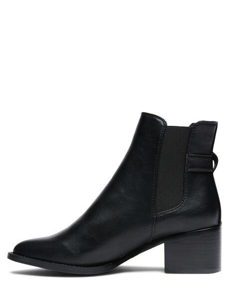 BLACK WOMENS FOOTWEAR BILLINI BOOTS - B1002BLK