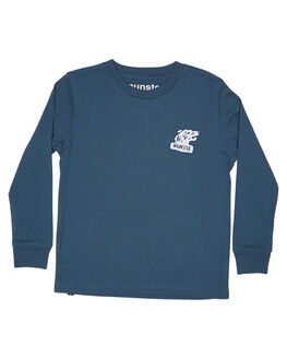 PIGMENT BLUE KIDS TODDLER BOYS MUNSTER KIDS TEES - MK172TL05PBLU