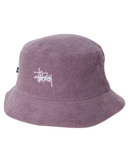 GRAPE WOMENS ACCESSORIES STUSSY HEADWEAR - ST705000GRA