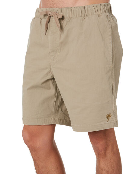 KHAKI MENS CLOTHING SWELL SHORTS - S5173251KHAKI