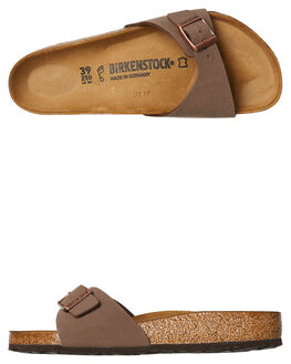 MOCHA WOMENS FOOTWEAR BIRKENSTOCK FASHION SANDALS - 040091MOC