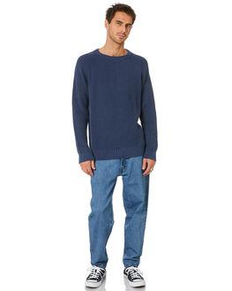 INDIGO MENS CLOTHING MR SIMPLE KNITS + CARDIGANS - M-07-31-33IND