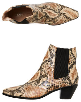 SNAKE WOMENS FOOTWEAR SOL SANA BOOTS - SS201W318SNAKE