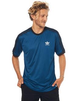 BLUE MENS CLOTHING ADIDAS ORIGINALS TEES - BR7931BLU
