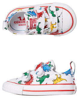 WHITE KIDS BOYS CONVERSE FOOTWEAR - 763713WHT