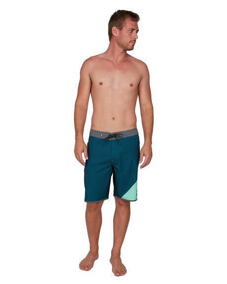 MAJOLICA BLUE MENS CLOTHING QUIKSILVER BOARDSHORTS - EQYBS04364-BSM6