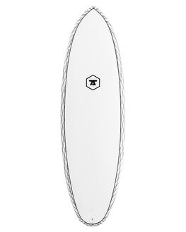 WHITE BLACK SURF SURFBOARDS 7S GSI SMALL WAVE - 7S-DDCV-0502-CLR