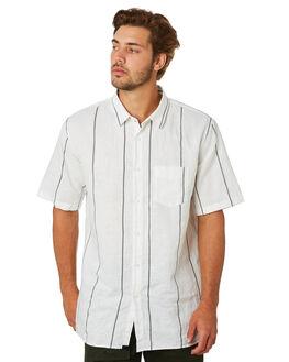MILK BLACK MENS CLOTHING ZANEROBE SHIRTS - 300-CONMLKBK