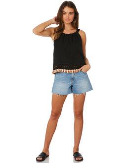 ONYX WOMENS CLOTHING TIGERLILY FASHION TOPS - T391048ONY