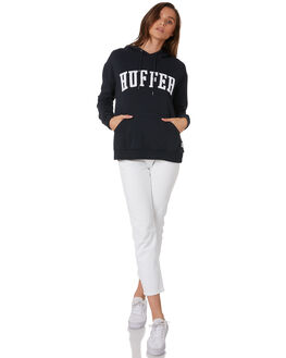 INDIGO WOMENS CLOTHING HUFFER JUMPERS - WHD92S533-344IND