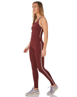 BERRY WOMENS CLOTHING THE UPSIDE ACTIVEWEAR - USW419095BERRY