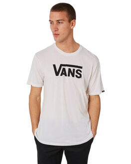 MARSHMALLOW OUTLET MENS VANS TEES - VN000UMKIGMMLW