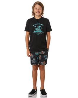 BLACK KIDS BOYS HURLEY BOARDSHORTS - CT1936010