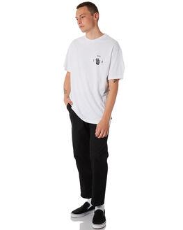 WHITE MENS CLOTHING GLOBE TEES - GB01830019WHT