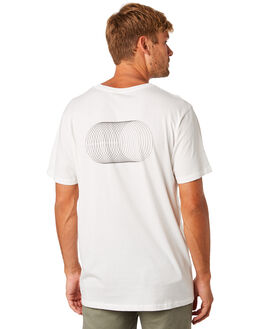 WHITE MENS CLOTHING MOLLUSK TEES - MS1755WHT