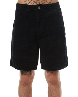 BLACK MENS CLOTHING SWELL SHORTS - S5161253BLK