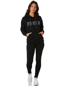 BLACK WOMENS CLOTHING RPM JUMPERS - 8PWT10ABLK