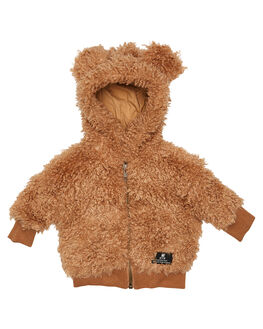TAN KIDS TODDLER GIRLS ROCK YOUR BABY JUMPERS + JACKETS - BGH2018-CSTAN