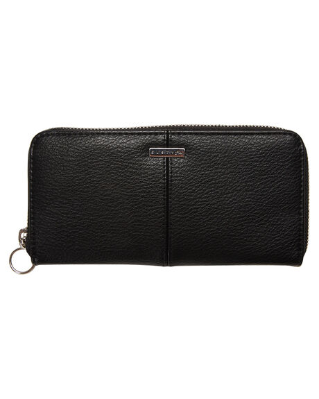 BLACK WOMENS ACCESSORIES RUSTY PURSES + WALLETS - WAL0739BLK