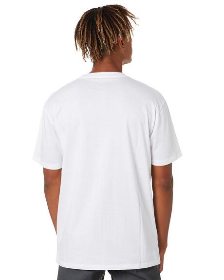 WHITE MENS CLOTHING POLER TEES - 201WHTUNIT-WHT
