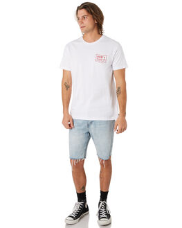 WHITE MENS CLOTHING RUSTY TEES - TTM2204WHT