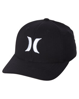 BLACK WHITE KIDS BOYS HURLEY HEADWEAR - AO4101-011