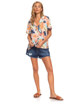 PEACH BLUSH WOMENS CLOTHING ROXY FASHION TOPS - ERJWT03396-MDT8