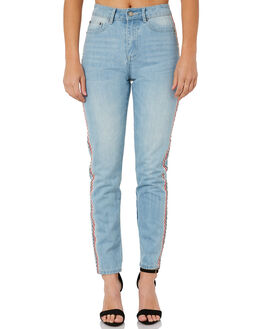 WASHED BLUE WOMENS CLOTHING THE FIFTH LABEL JEANS - 40180246WSHBL