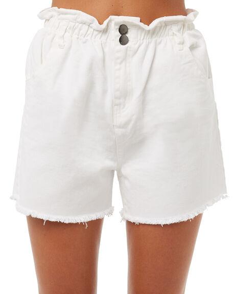 WHITE OUTLET WOMENS BILLABONG SHORTS - 6585273WHT