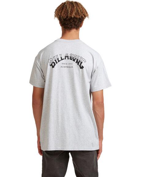 LIGHT GREY HEATHER MENS CLOTHING BILLABONG TEES - 9513021-LGH