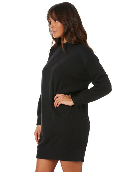 BLACK WOMENS CLOTHING SILENT THEORY DRESSES - 6054037BLK