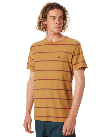 OLD GOLD MENS CLOTHING VOLCOM TEES - A0131802OGD