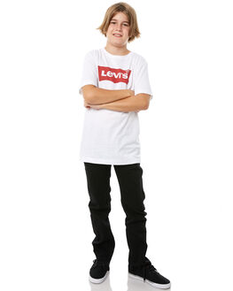 WHITE KIDS BOYS LEVI'S TEES - 918157-001WHT