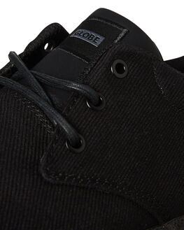 BLACK MENS FOOTWEAR GLOBE SKATE SHOES - GBWINSLOW20387