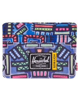 ABSTRACT GEO MENS ACCESSORIES HERSCHEL SUPPLY CO WALLETS - 10360-01991-OSABST