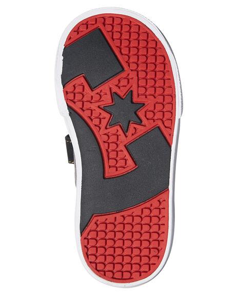 GREY RED KIDS TODDLER BOYS DC SHOES FOOTWEAR - ADTS300005GRF